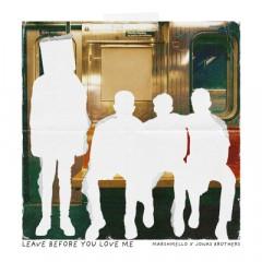 Leave Before You Love Me - Jonas Brothers & Marshmello
